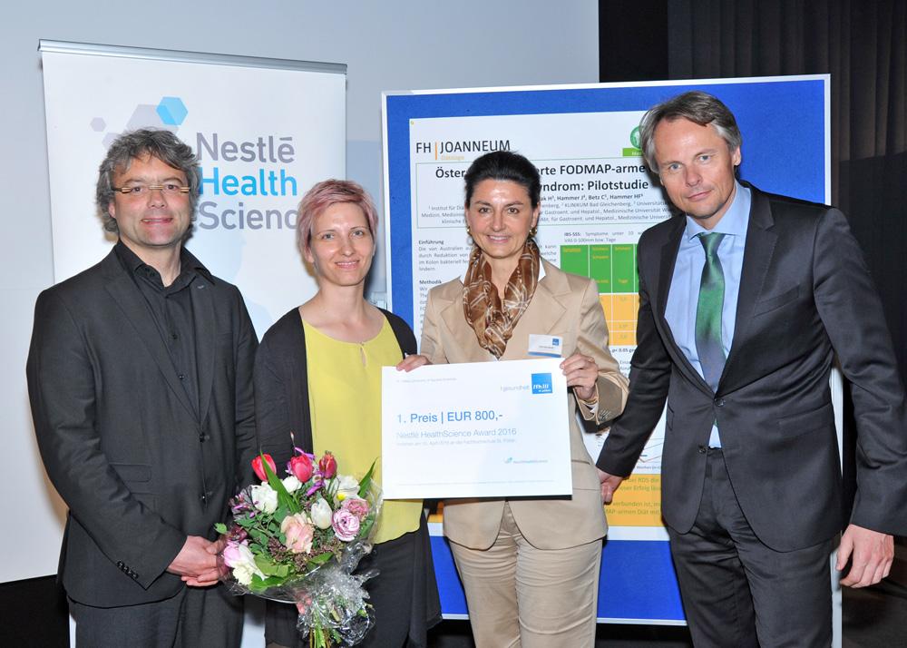 Master – Gewinnerin: Anna Auer, BSc – FH Joanneum Bad Gleichenberg