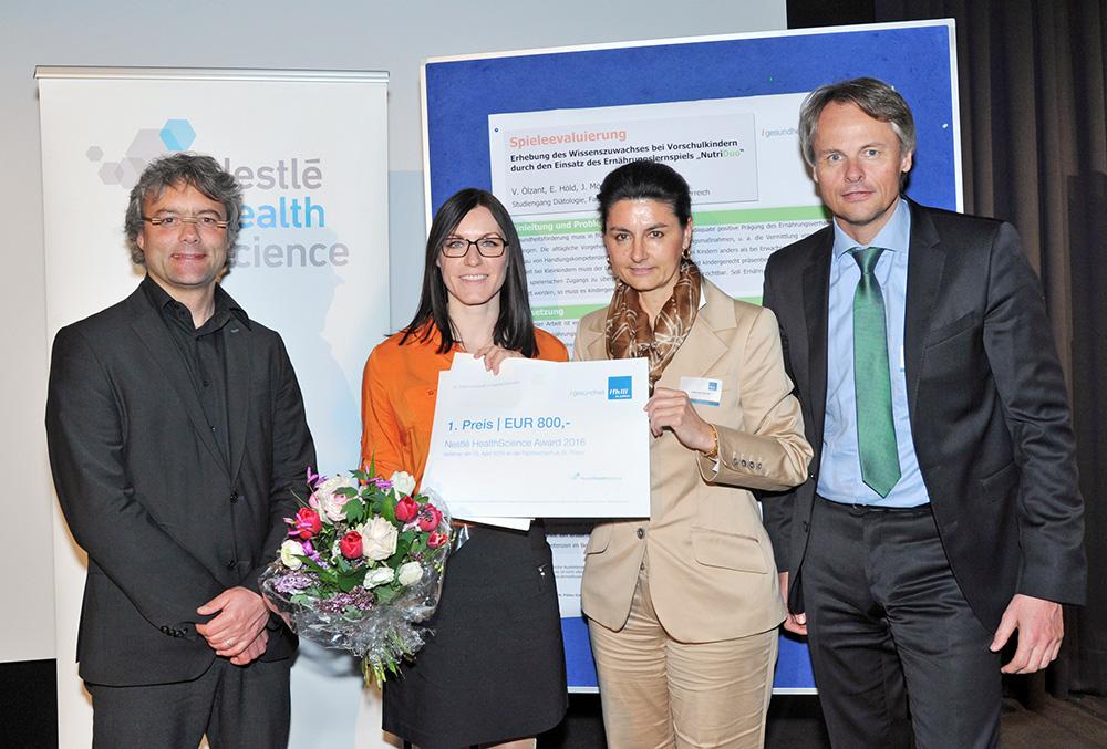 Bachelor – 1. Platz: Verena Ölzant, BSc – FH St. Pölten