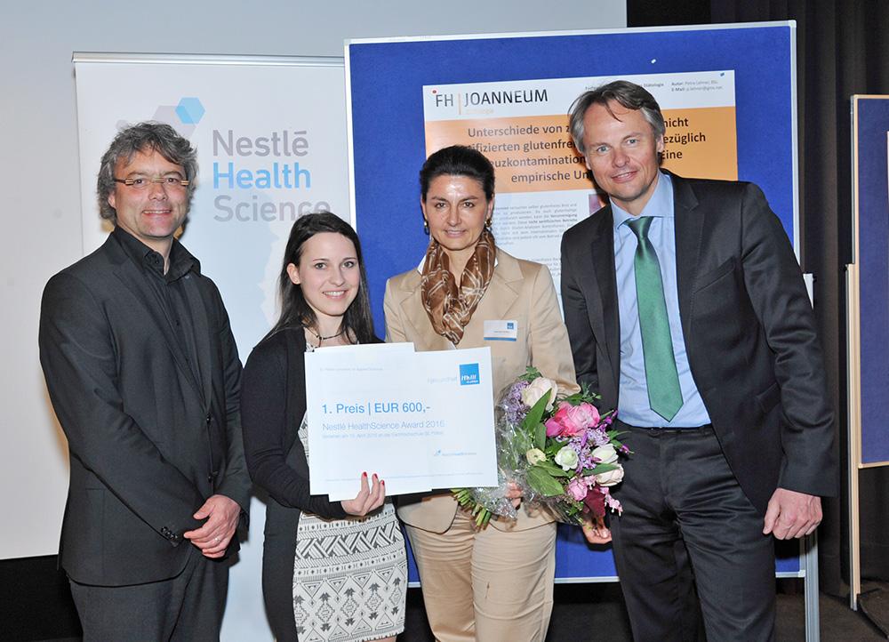 Bachelor – 1. Platz: Petra Lehner, BSc – FH Joanneum Bad Gleichenberg